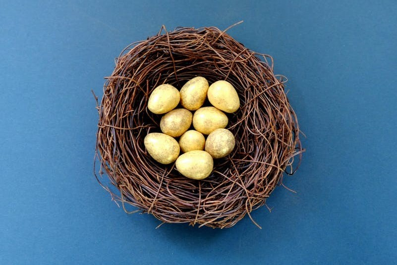 Taking smart risks: don't put all your eggs in one basket