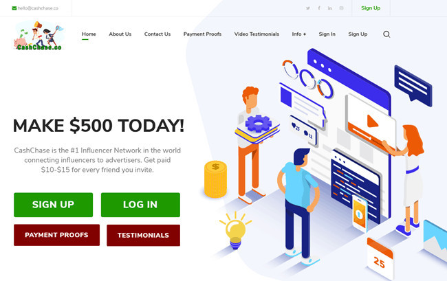 This Is CashChase HomePage