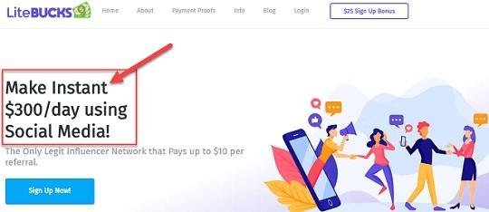 LiteBucks Review They Promise Instant Money