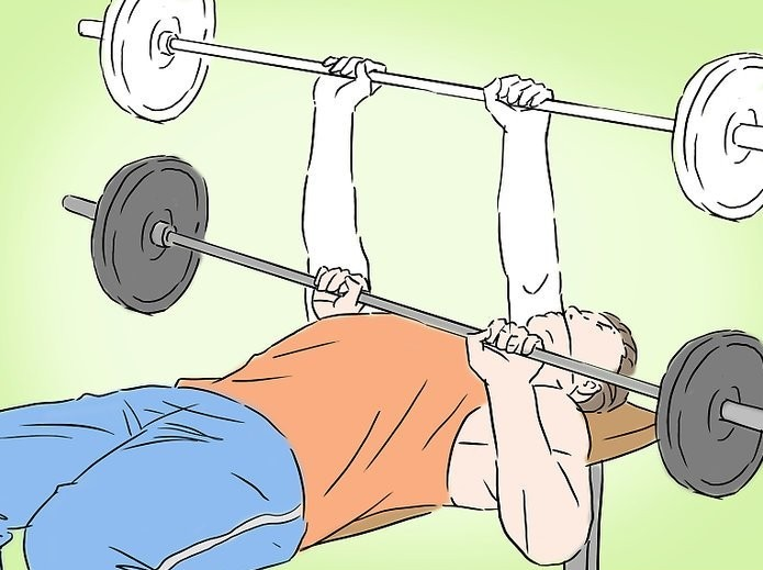 how to bench press image(image courtesy of wikihow)