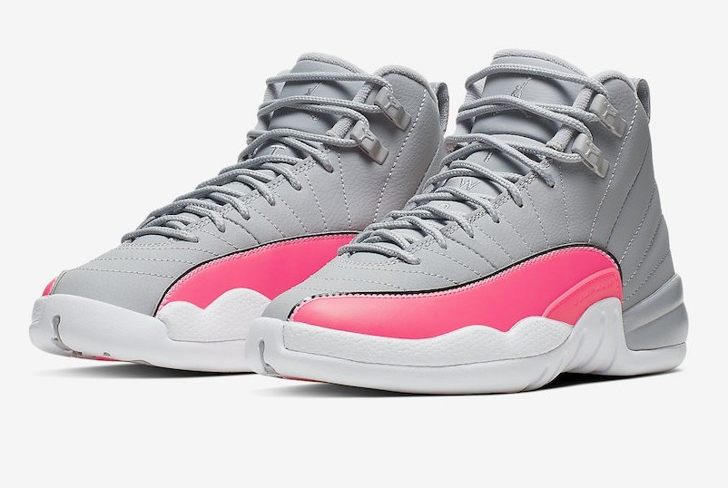hot sale online ab309 d39ec Air Jordan 12-GS Racer Pink Air Jordan 2019 Sneaker Drop ...