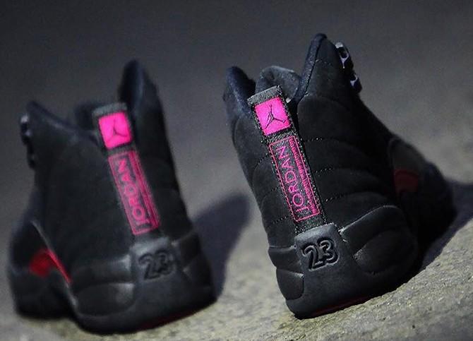 91bd903bfa2 Air Jordan 12 Release Date: September 8, 2018 $140 Color: Black/Dk Grey-Rush  PinkStyle