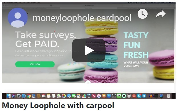 Money Loophole with cardpool