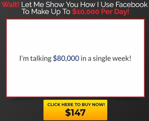Claim of Clickbank Book Plus making you $80,000 a week