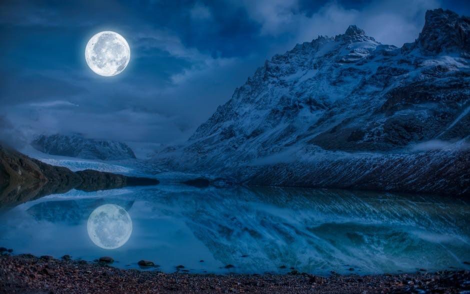 Bracketing moon
