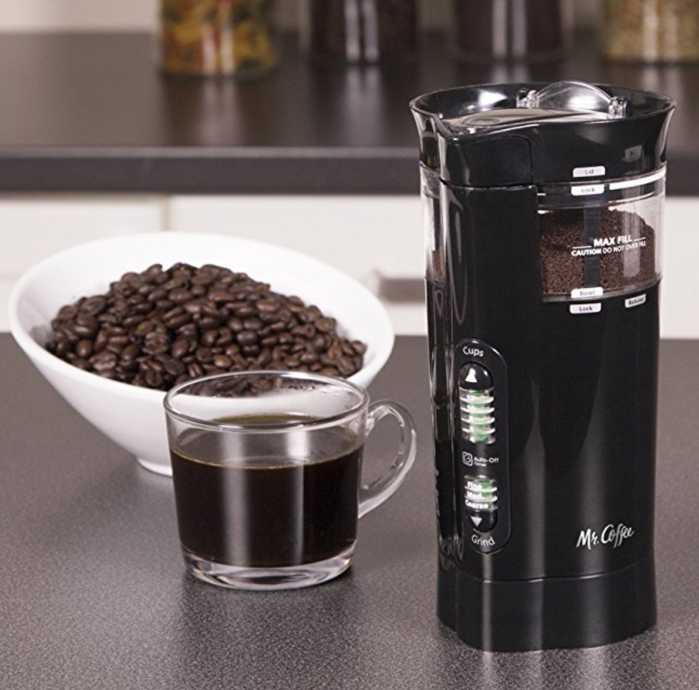 mr coffee blade grinder