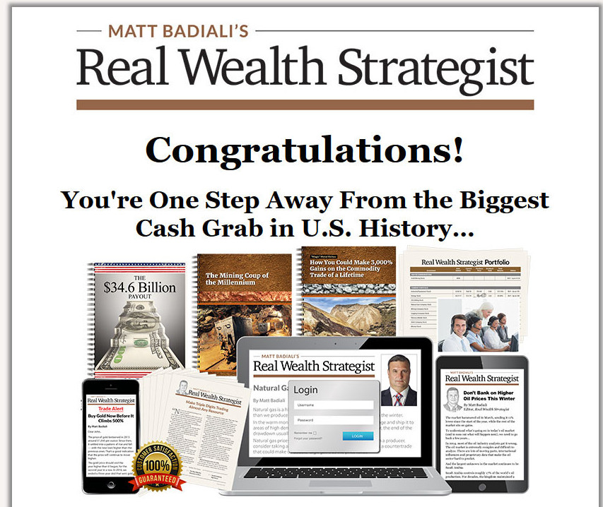 Real Wealth Strategist review