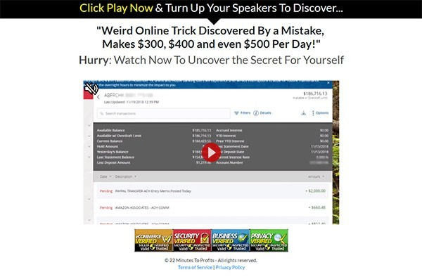 22 minutes to profit review