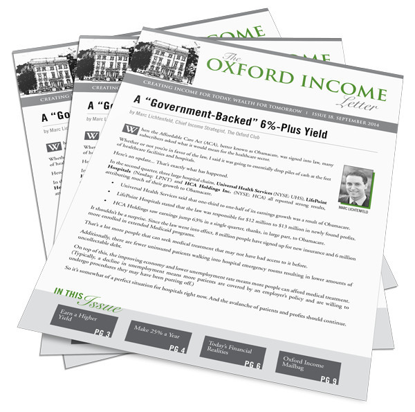 What is The Oxford Income Letter?