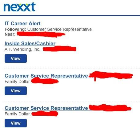 Nexxt Job Results