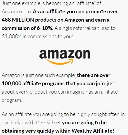 affiliate marketing amazon