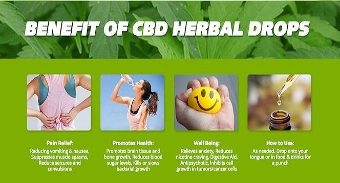 benefits of herbal drops