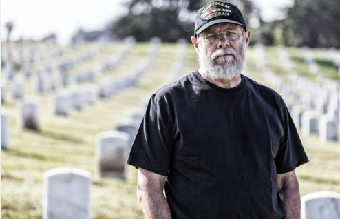 senior war veteran