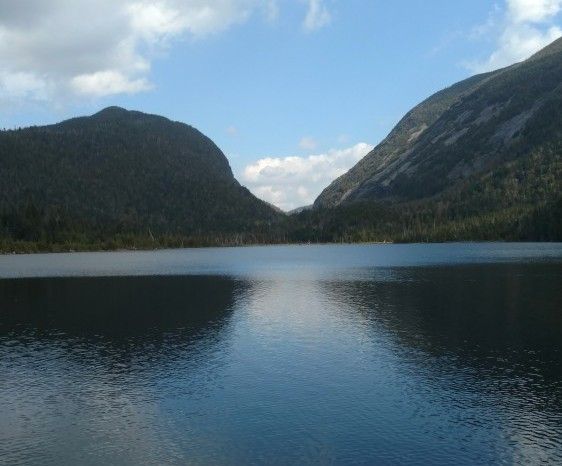 Lake Colden high peaks wilderness area upstate New York in the Adirondacks
