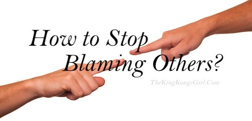 How to stop blaming others