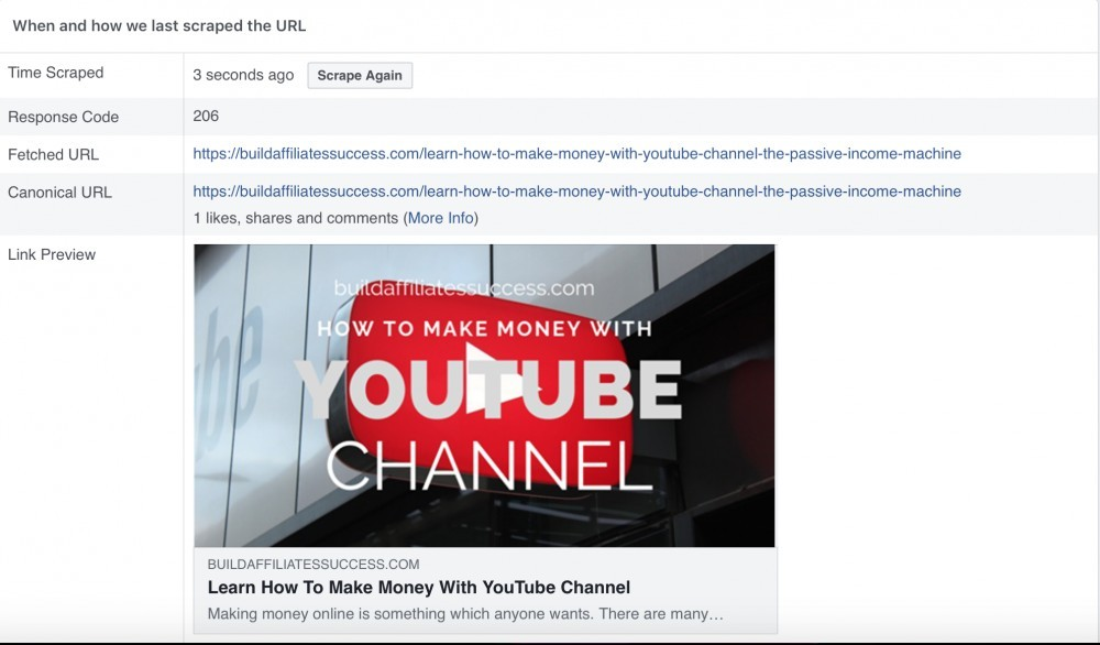 How To Fix Facebook Website Thumbnail When Sharing A Post | Build