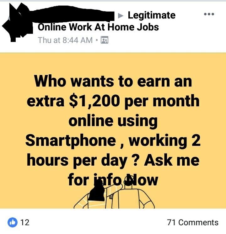 copy paste scam
