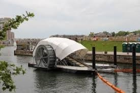 Trash wheel