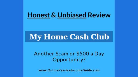 Honest My Home Cash Club Review