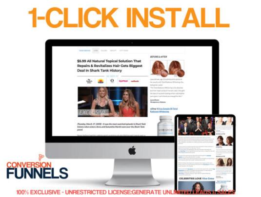 Conversion Funnels Pro ClickBank Funnels