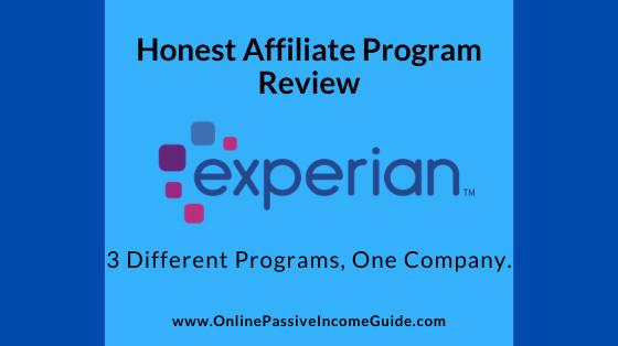 Honest Experian Affiliate Program Review