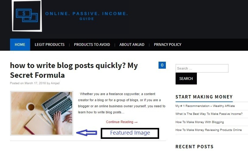 Featured Image for Article's SEO