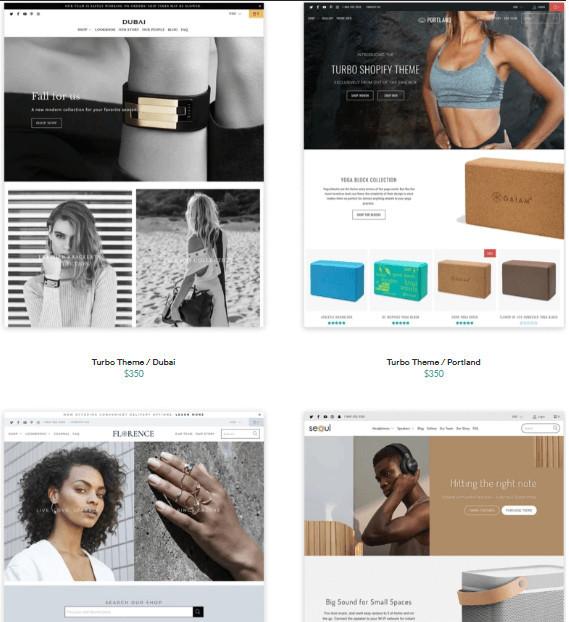 Shopify Turbo Customizable Styles