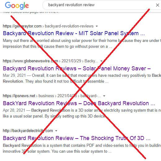Backyard Revolution Solar Reviews