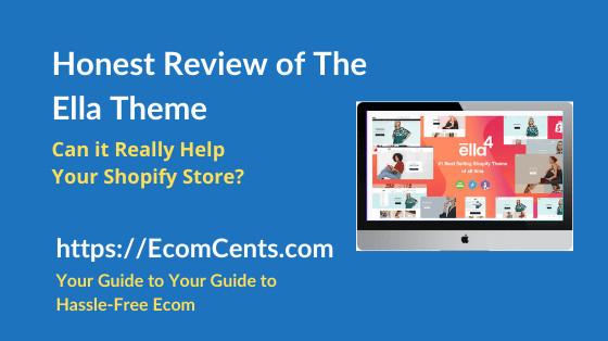 Shopify Ella Theme Review