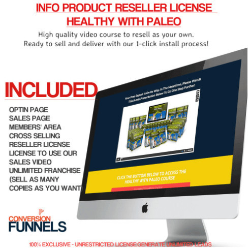 Conversion Funnels Pro Resell Funnel