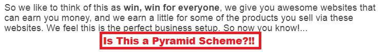 Free Monthly Websites Pyramid Scheme