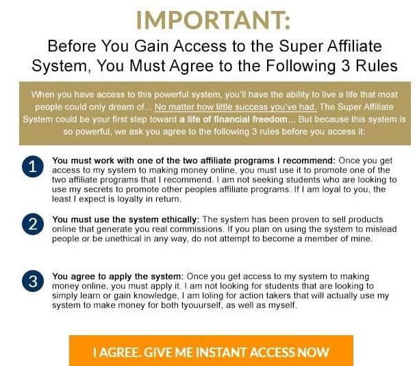 Super Affiliate System Limitations