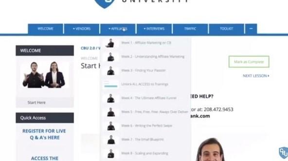 CBU 2 Affiliate Marketing Course