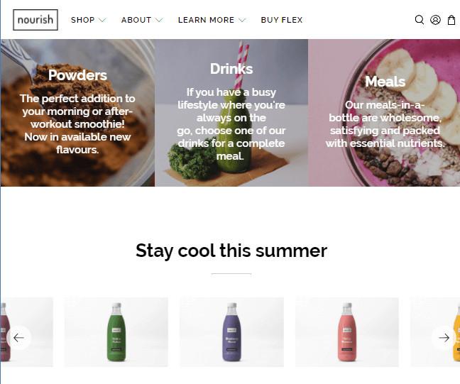 Flex Restaurant Shopify Theme