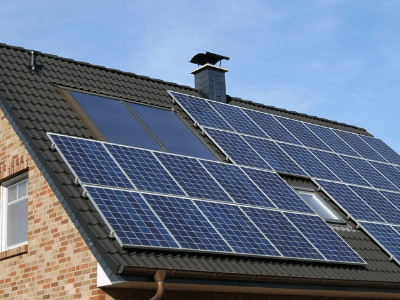 Solar Panels Eliminate Electric Bill in Winter