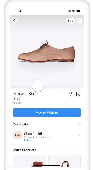 Instagram Shopping for Merch