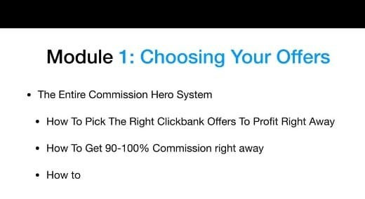 Commission Hero Modules