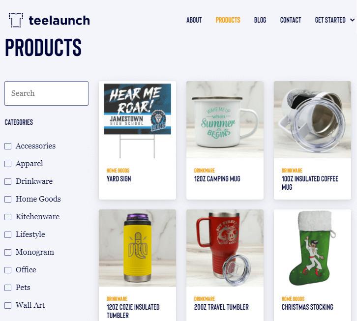 Teelaunch Alternative to Amazon Merch