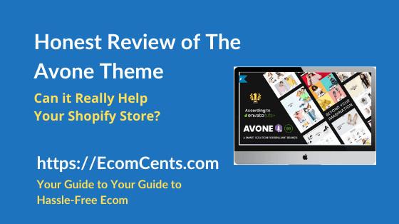 Shopify Avone Theme Review