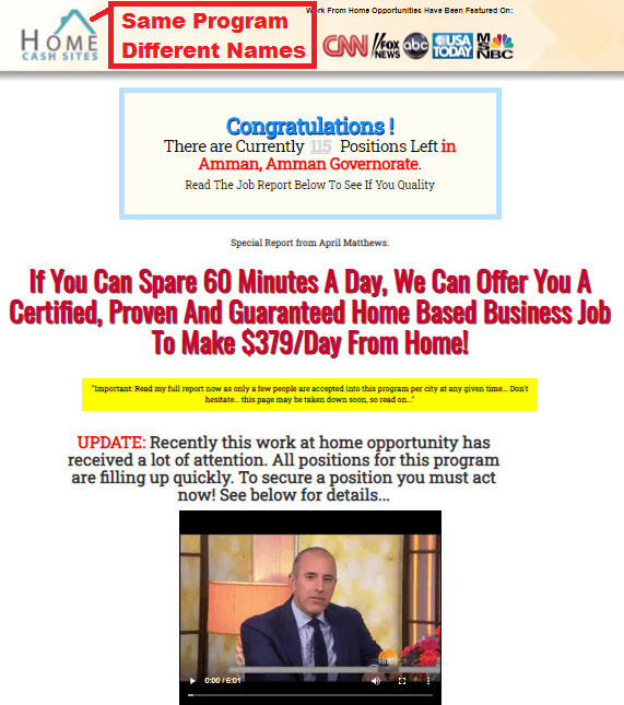 Rehashed Rapid Profit Package