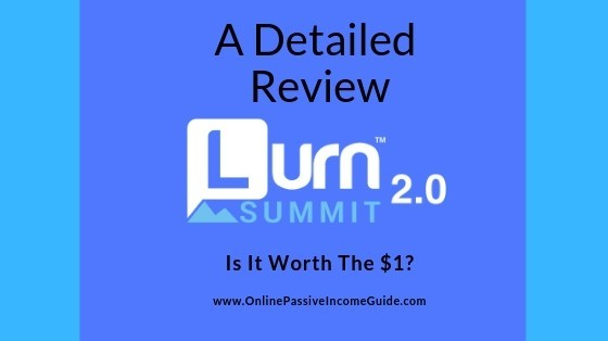 Lurn Summit Review - Is It A Scam Or Legit