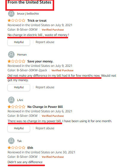 Heunwa Customer Reviews