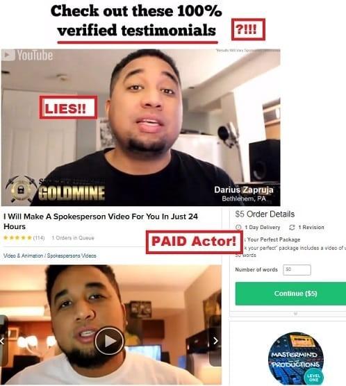 Secret Online Goldmine Testimonials