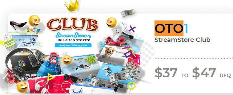 Stream Store Upsells