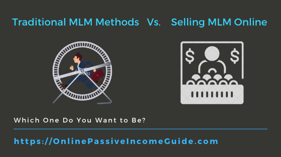 Selling MLM Products Online Vs. Offline