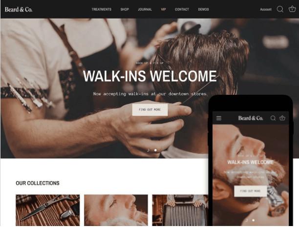 Showcase Shopify Services Theme