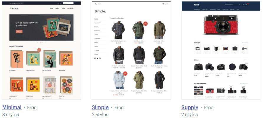 Beginner-Friendly Shopify Themes