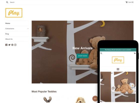 Simple Free Shopify Artwork Theme
