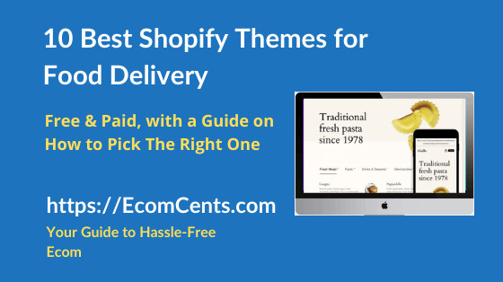 Best Food Delivery Shopify Themes