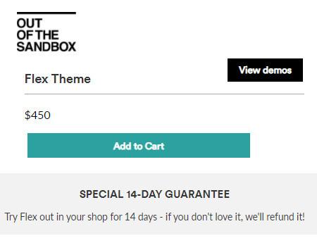 Purchase Flex Theme
